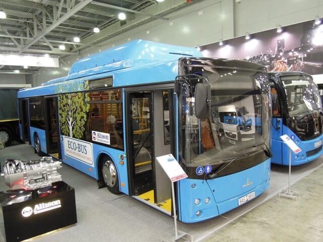 Газовые автобусы