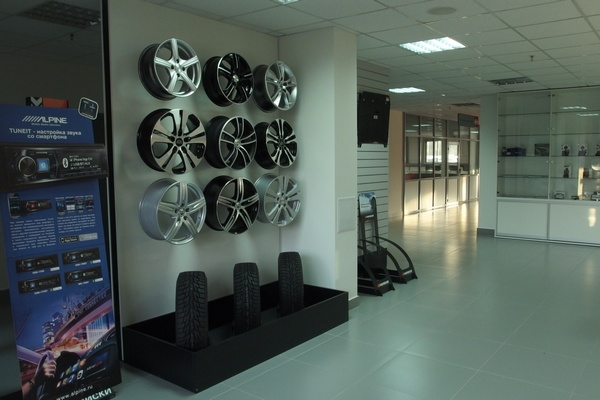 новый автоцентр КИА в Минске