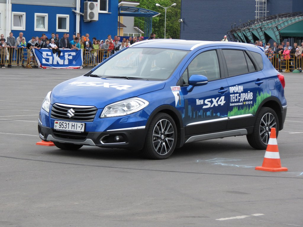 Солигорск 2014 -2 этап, Солигорск 2014 -2 этап, скоростное маневрирование