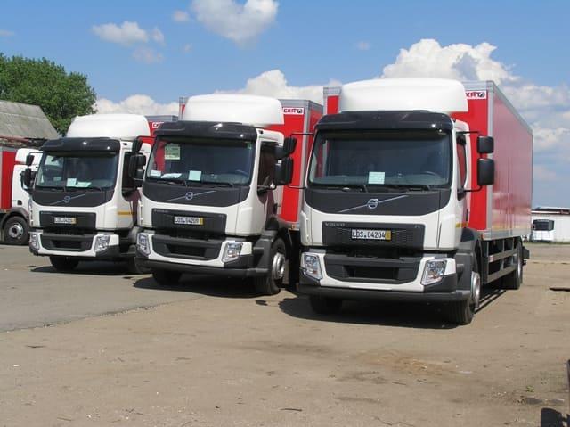 Девять новых Volvo FL для предприятия «Кока-Кола Бевриджиз Белоруссия»