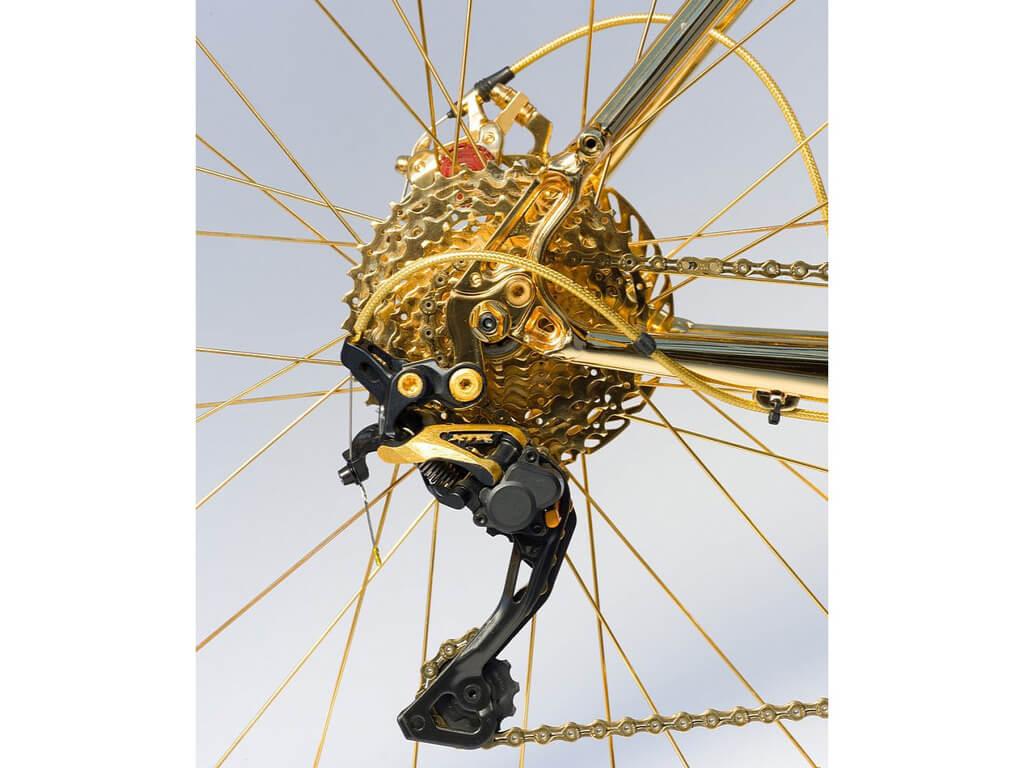 золотой велосипед