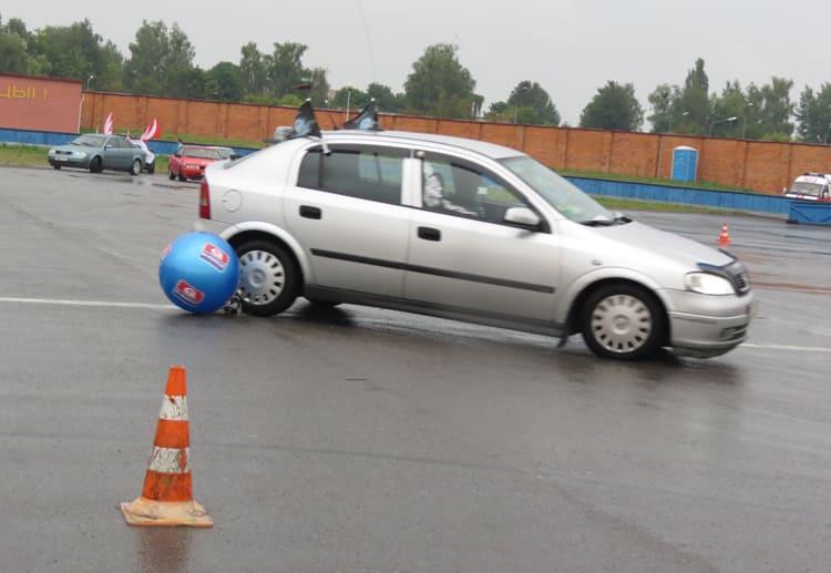 скоростное маневрирование в Пинске