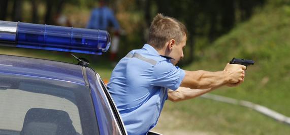 погоня со стрельбой за пьяным водителем фуры