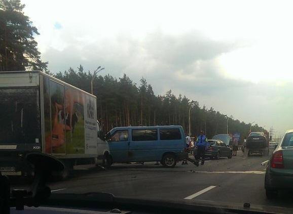 авария на МКАД Минск 22 июля