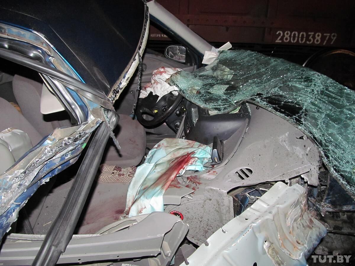 авария на железнодорожном переезде в Калинковичах