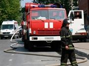 загорание грузовика