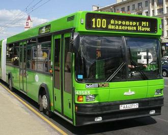 Минск, автобусы, 100, 111