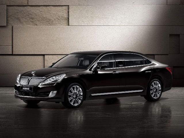 Hyundai вывел на российский рынок лимузин