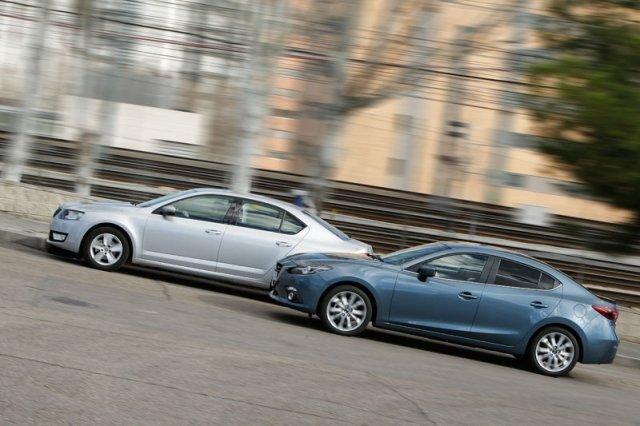 Mazda vs Skoda