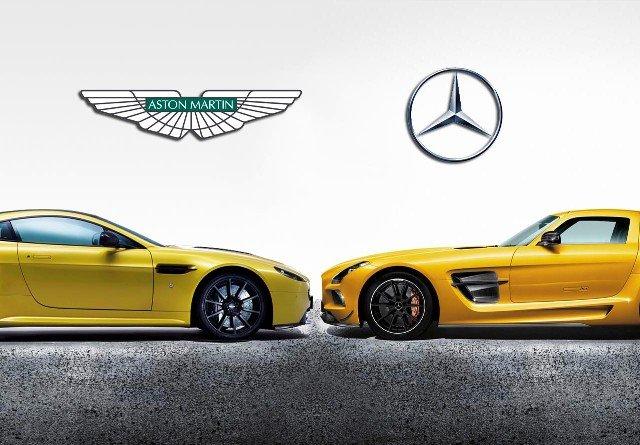 Mercedes-Benz и Aston Martin