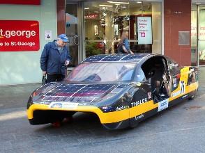 электромобиль, Австралиия, солнечная, энергия