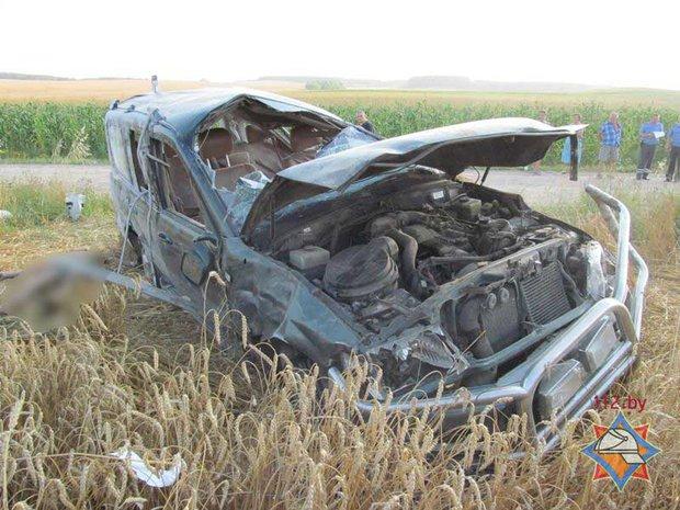 Тойота, перевернулась, водитель, погиб
