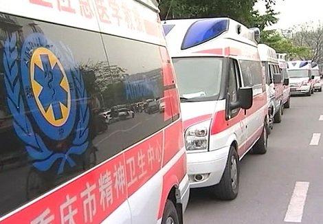 Китайские автомобили скорой помощи