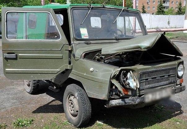 В Гродно лишенный прав опрокинул «ЛУАЗ»