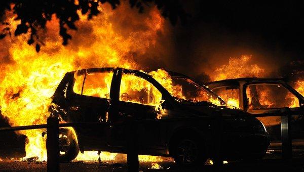 Владимир, машина, трое, дети, загорелась