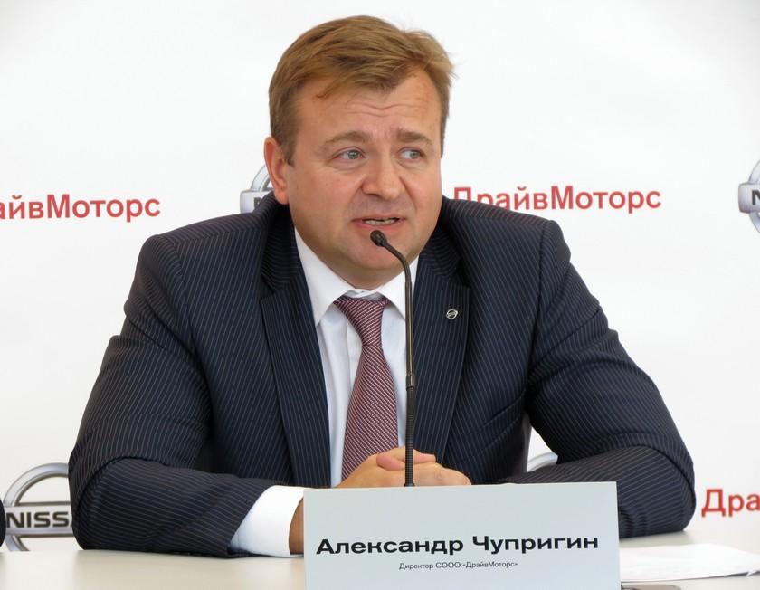 директор АЦ Ниссан в Минске