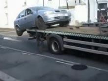 житель Лондона спас свой автомобиль
