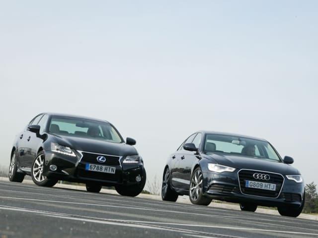 сравнительный тест Audi и Lexus