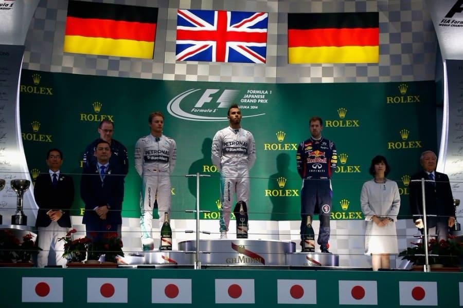 Подиум Гран-при Японии 2014