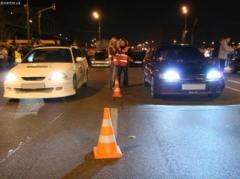 нелегальные гонщики в Киеве