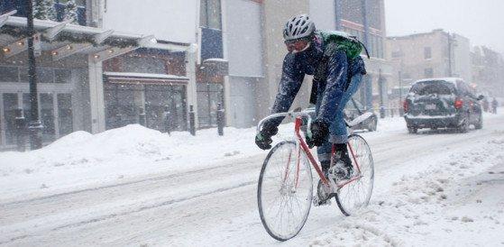 велосипед, гололед, запрещено, ГАИ