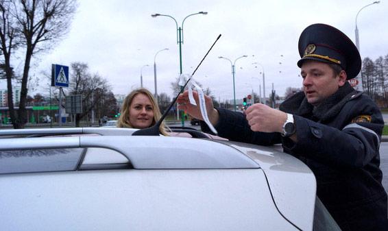 акция, ГАИ, Минск