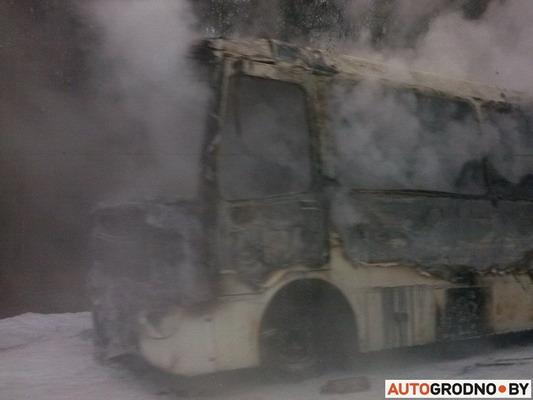 автобус, загорелся, Мосты