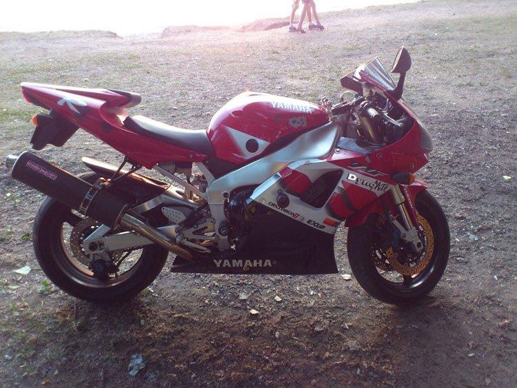 мотоцикл до кражи