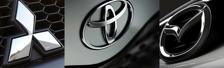 Toyota, Mitsubishi, Mazda, обвал рубля, пересмотр цен