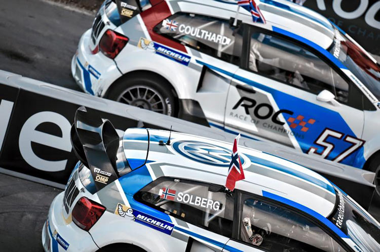 Race of Champions 2014 auf Barbados  Motorsport