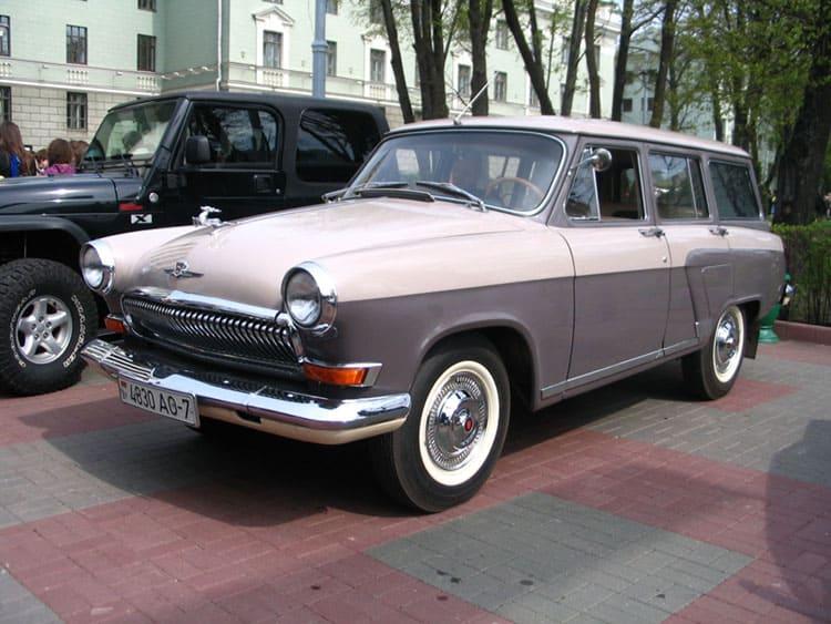 Cоветская Волга ГАЗ 22В