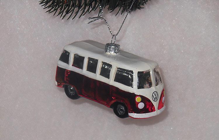 Микроавтобус, Volkswagen , елочная игрушка