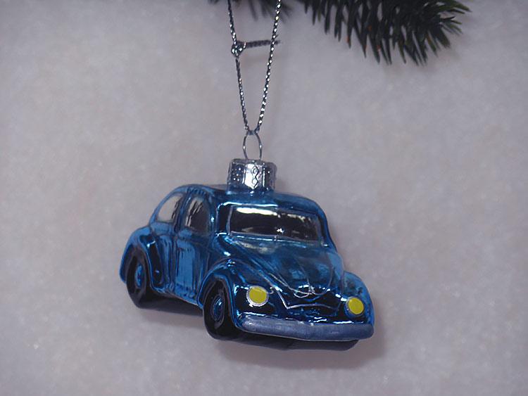 Volkswagen Beetle, елочная игрушка
