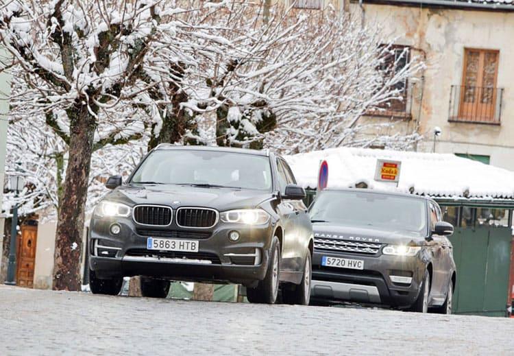BMW , x5,Range Rover, сравнительный тест
