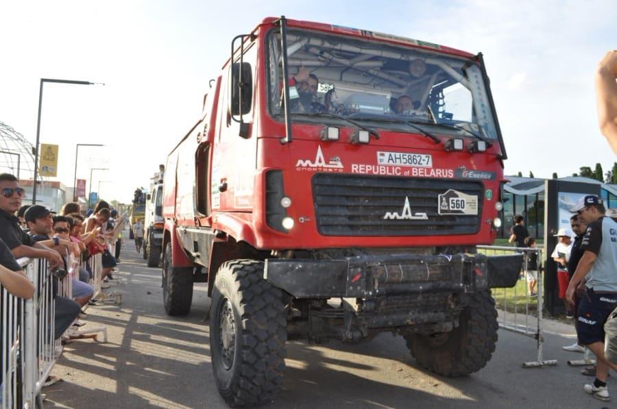 МАЗ-СПОРТ авто на Дакаре