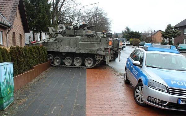 ДТП, германия, танк