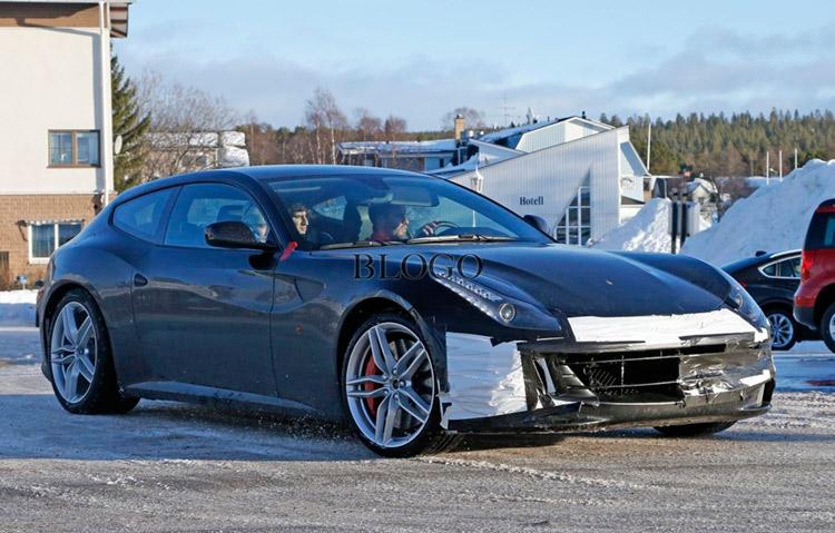 Ferrari FF, феррари, новая модель