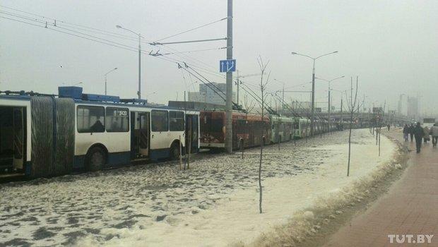 гаи, авария, пр Дзержинского