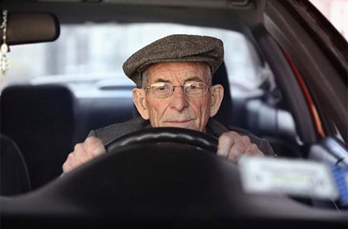 техосмотр, пенсионер,ТО авто