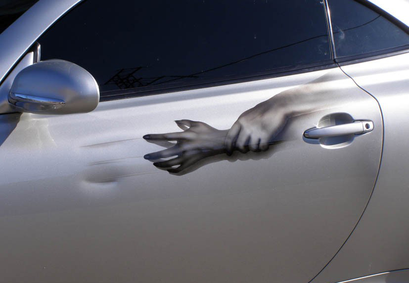 царапины на авто, чувствительность