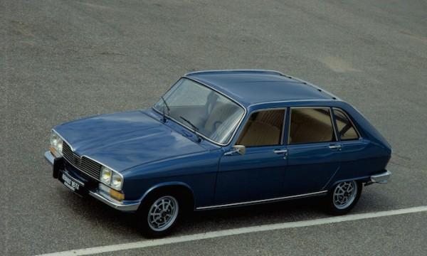 Renault 16, рено 16, 50-летие рено