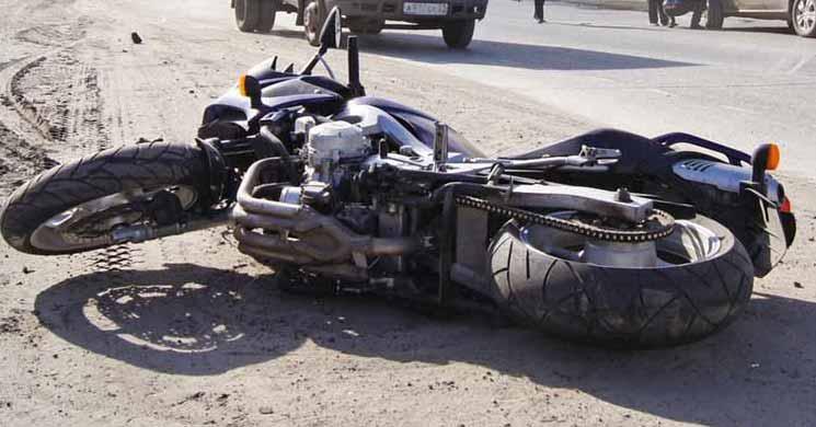 За 5 минут мотоциклист лишился прав и «собрал» 15 протоколов