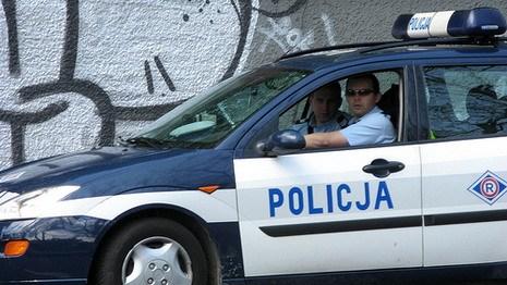 Белорусы разбойничали в Польше под видом полицейских