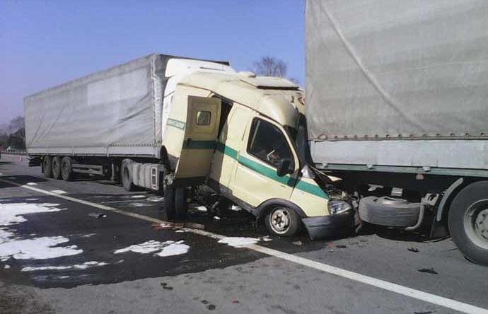 На М1 сегодня произошла массовая авария