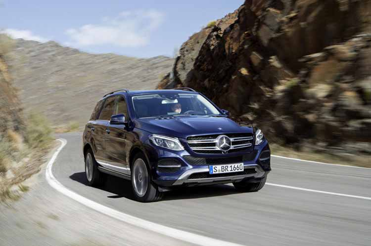 Mercedes M-класса сменил название и позеленел