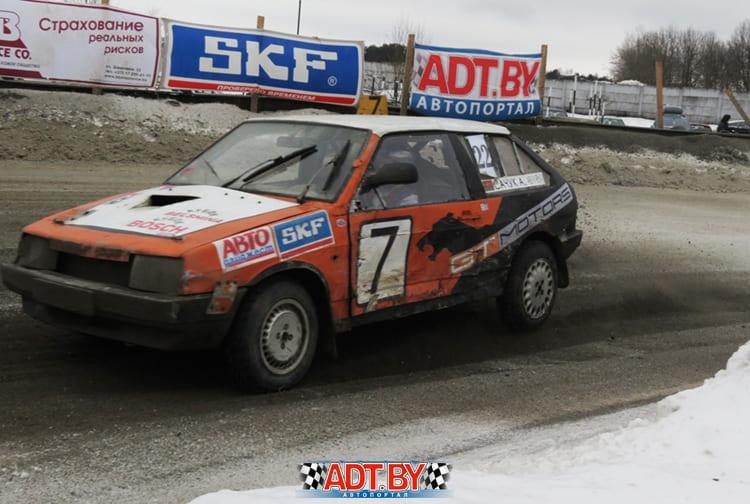 Александр Сачук на трассе