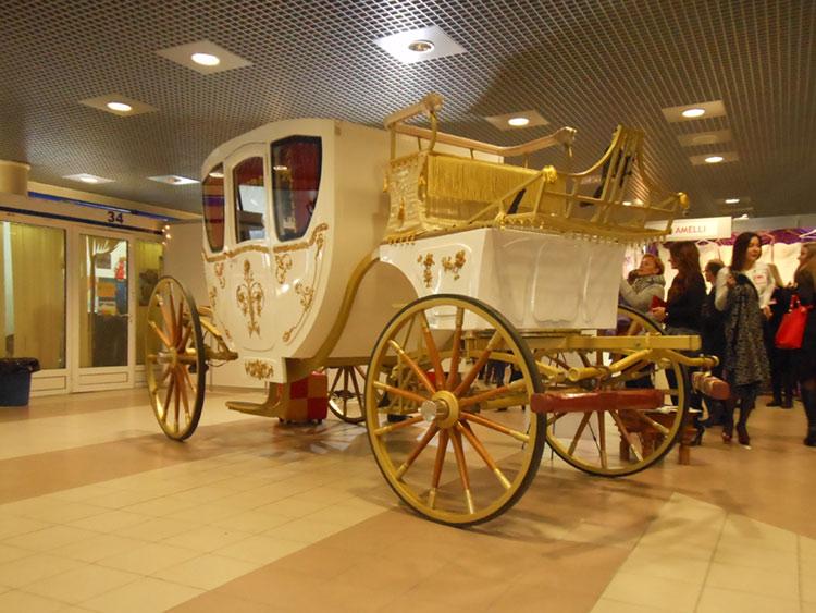 карета, свадебная выставка