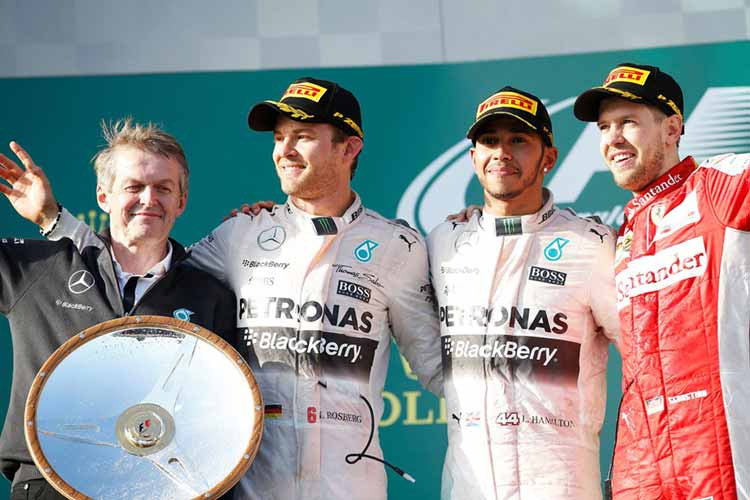 """Формула-1"": Гран-при Австралии. Подиум"