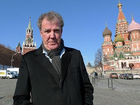 Джереми Кларксон подписал контракт в России
