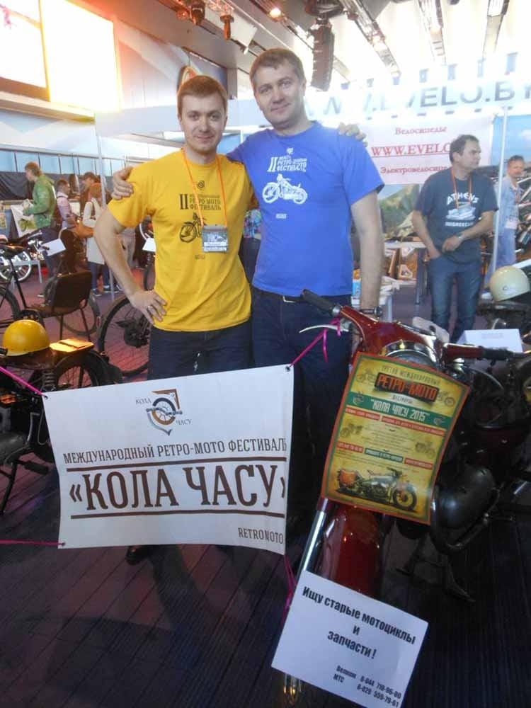 Организаторы будущей выставки братья Гапановичи